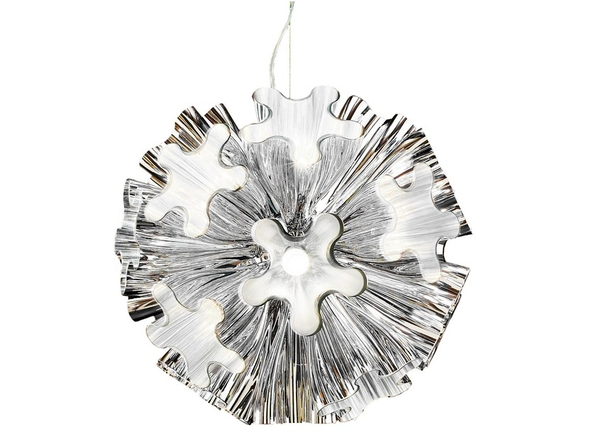 Blown glass chandelier BLUM | Chandelier - AXO LIGHT