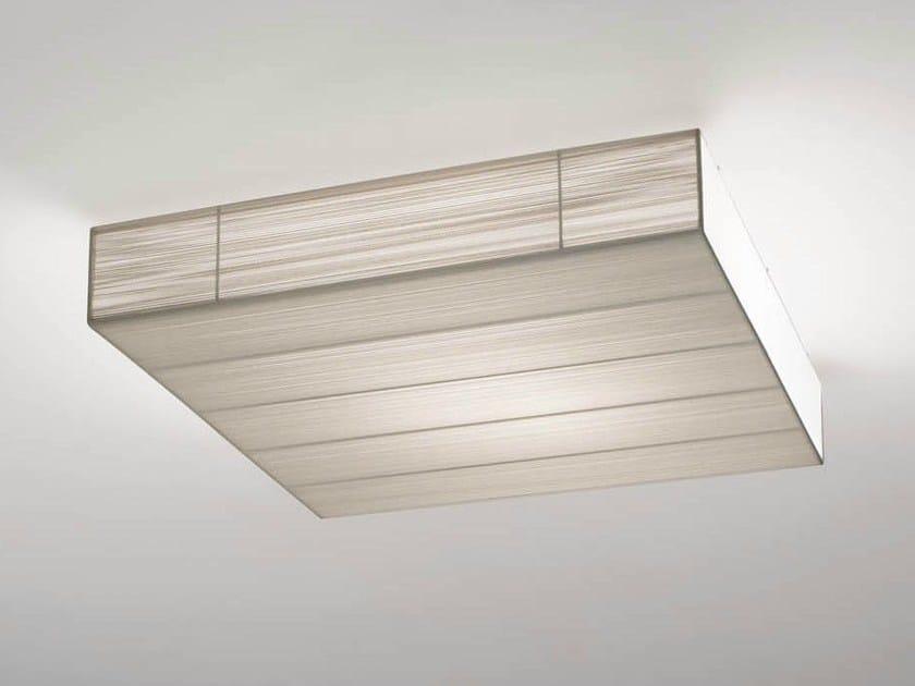Handmade silk ceiling light CLAVIUS | Ceiling light - AXO LIGHT