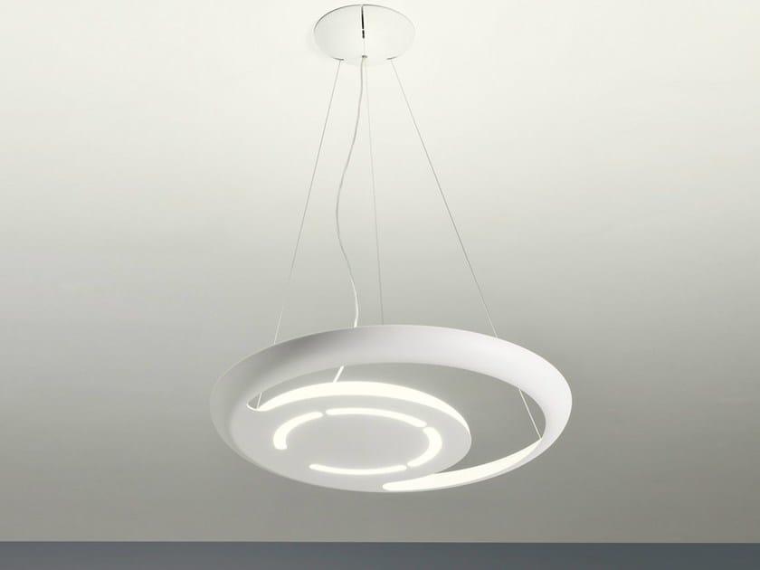 Fluorescent aluminium pendant lamp LEIJA | Pendant lamp - AXO LIGHT