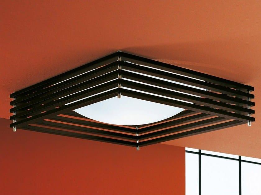 Plafonnier halogène en bambou KOSHI | Plafonnier - AXO LIGHT