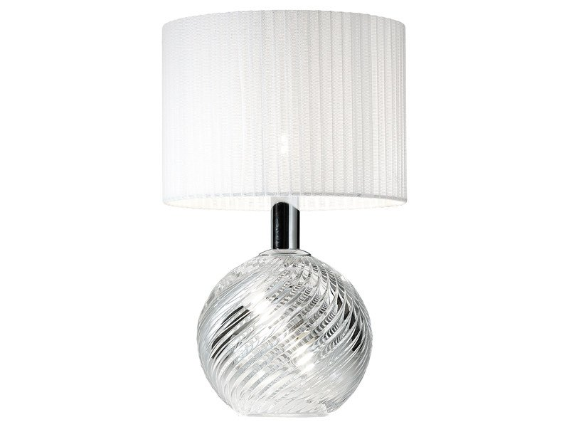 Crystal table lamp DIAMOND SWIRL | Table lamp - Fabbian