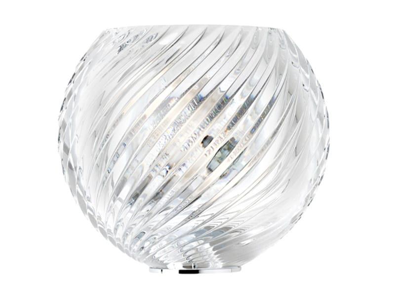 Crystal wall light DIAMOND SWIRL | Wall light - Fabbian