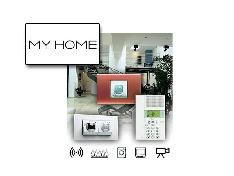 Sistema domotico per gestione sicurezza MY HOME – SICUREZZA - BTICINO