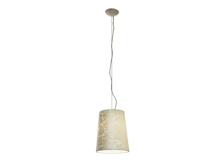 Fluorescent fabric pendant lamp DAMASCO | Pendant lamp - AXO LIGHT