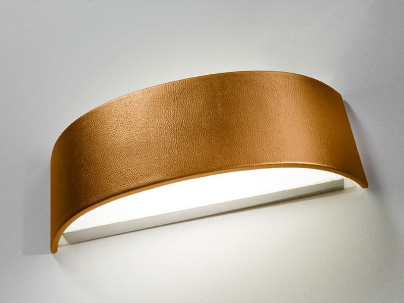 Fluorescent imitation leather wall light SKIN | Wall light - AXO LIGHT