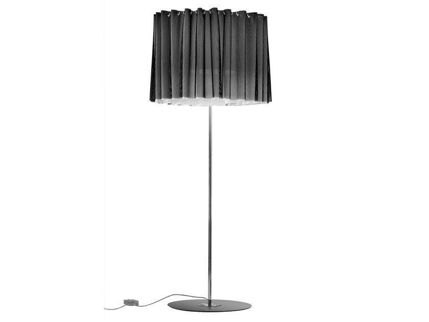 Trevira® CS floor lamp with dimmer SKIRT | Floor lamp - AXO LIGHT