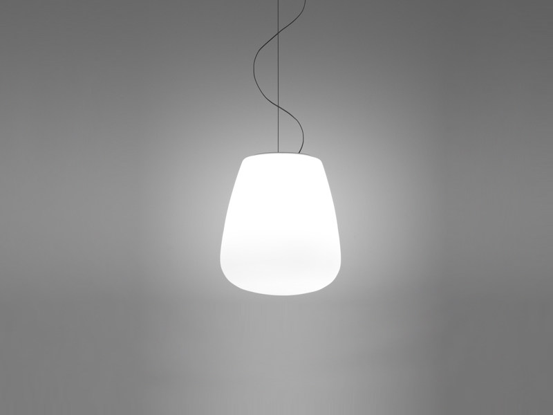 Glass pendant lamp LUMI BAKA | Pendant lamp by Fabbian