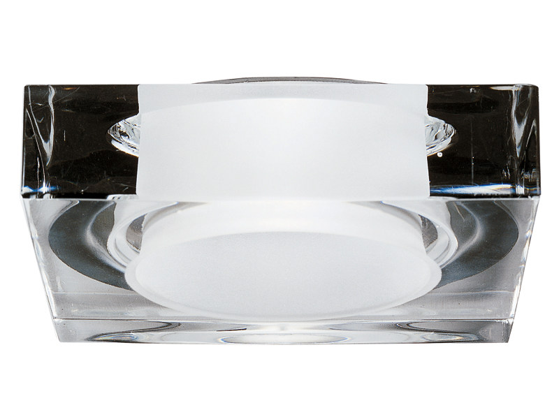 Recessed crystal spotlight for false ceiling LUI - Fabbian