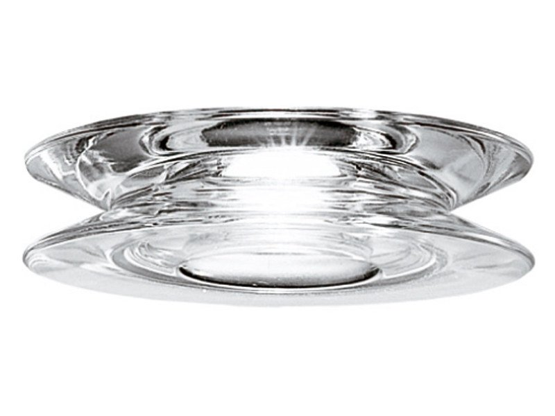 Recessed crystal spotlight for false ceiling SHIVI - Fabbian