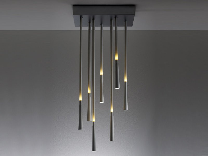 Plastic ceiling lamp GIUNCO | Ceiling lamp by Fabbian