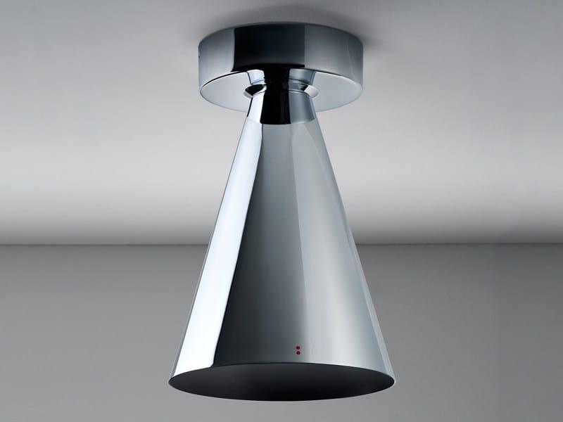 Metal ceiling lamp KONE | Ceiling lamp - Fabbian