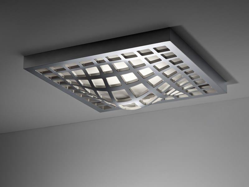 Aluminium ceiling lamp KWARK | Ceiling lamp - Fabbian