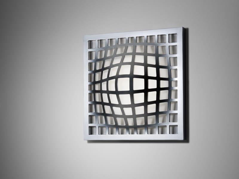 Aluminium wall lamp KWARK | Wall lamp - Fabbian