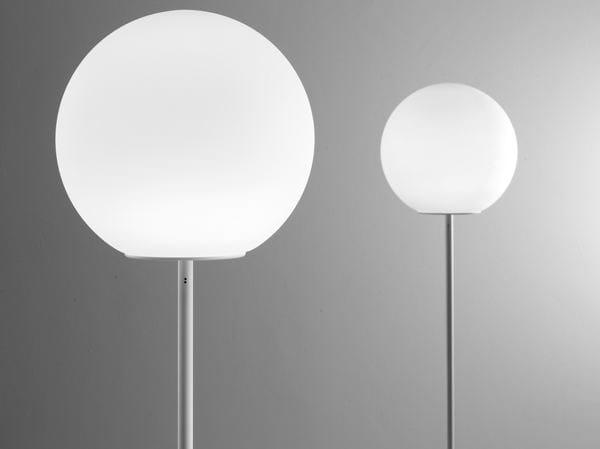 Glass floor lamp LUMI SFERA | Floor lamp - Fabbian
