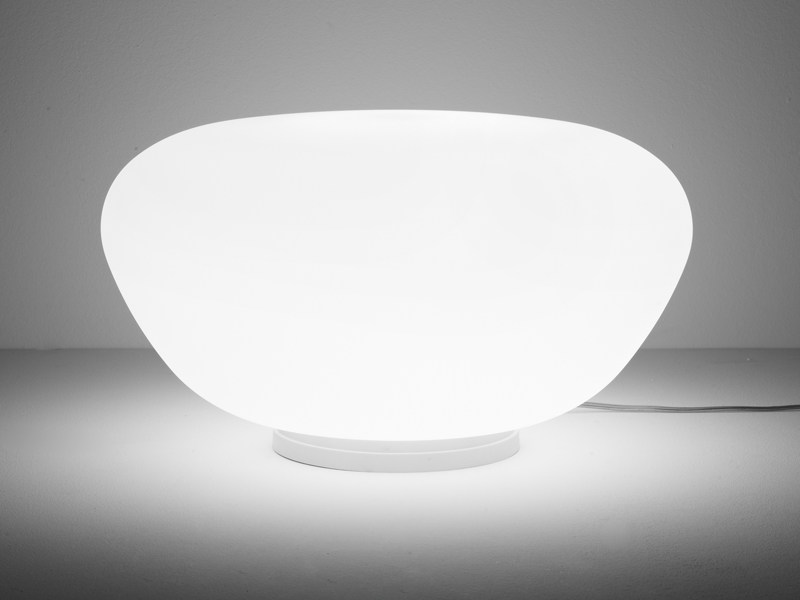 Glass table lamp LUMI POGA | Table lamp - Fabbian