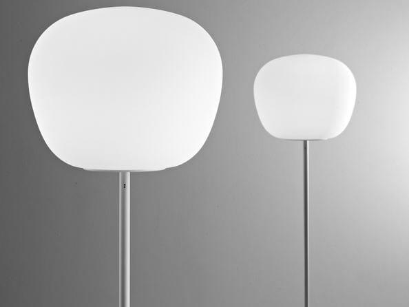 Glass floor lamp LUMI MOCHI | Floor lamp - Fabbian