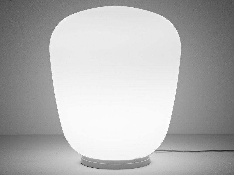 Glass table lamp LUMI BAKA | Table lamp - Fabbian