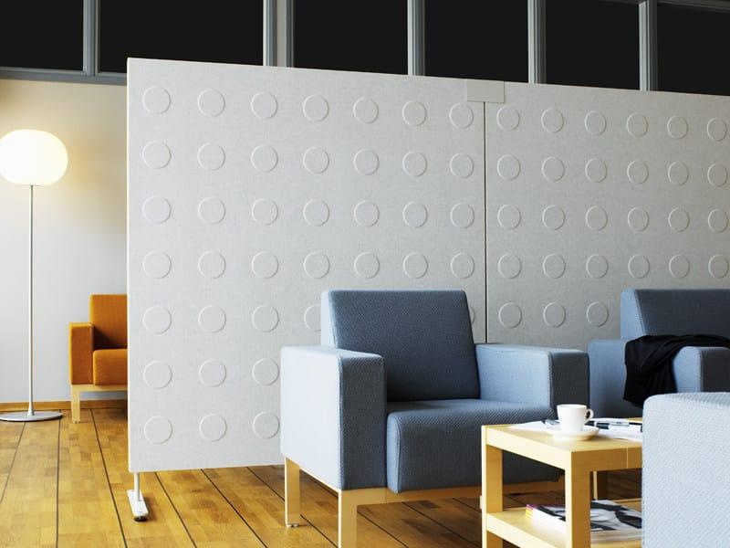 Pannello divisorio fonoassorbente in legno doremi abstracta - Pannello divisorio ikea ...