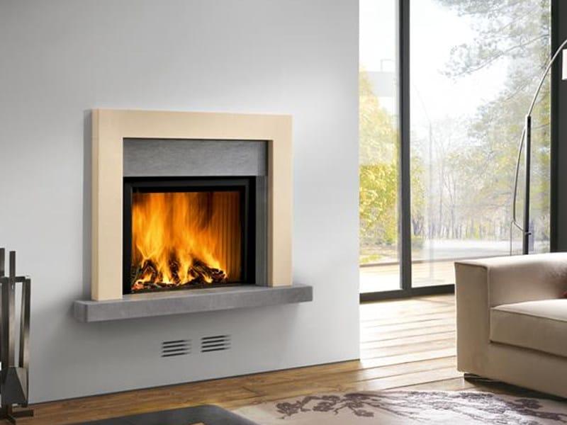 Marble Fireplace Mantel NOVARA - Piazzetta