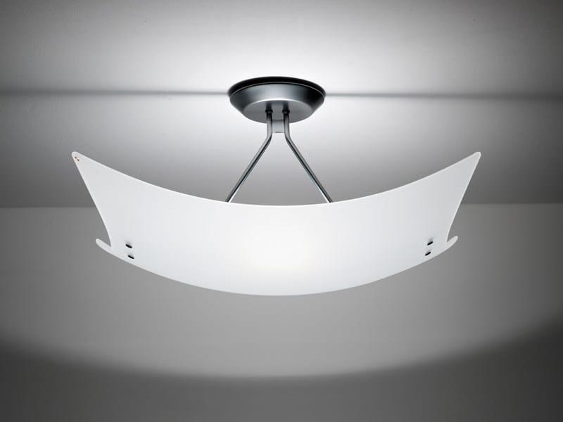 Lampada da soffitto in vetro TEOREMA | Lampada da soffitto - Fabbian