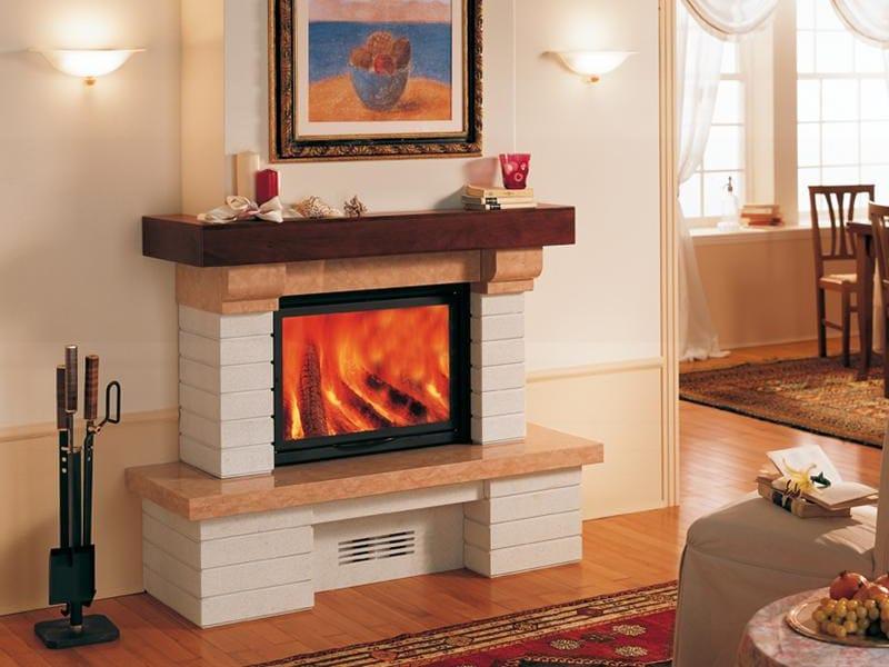 Marble Fireplace Mantel OVIEDO - Piazzetta