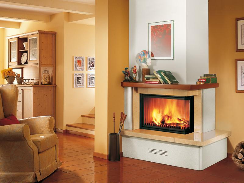 Marble Fireplace Mantel PERUGIA - Piazzetta
