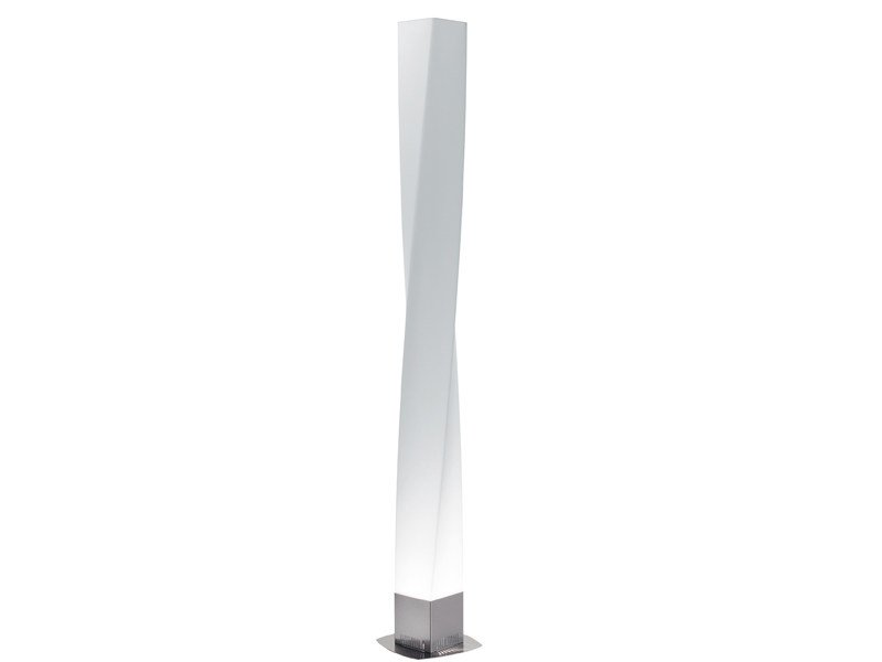 Polyethylene floor lamp TWIRL | Floor lamp - Fabbian