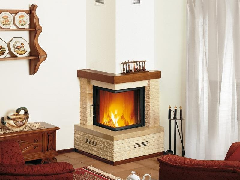 Marble Fireplace Mantel CLES - Piazzetta