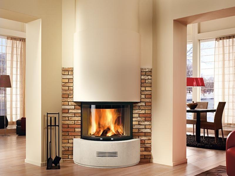 Travertine Fireplace Mantel CERVIA - Piazzetta