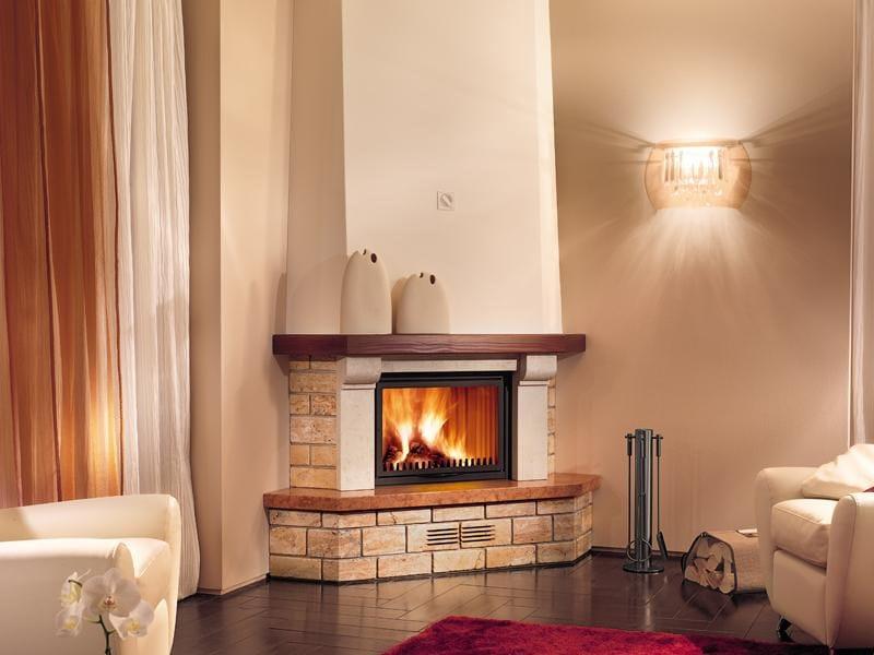 Spruce Fireplace Mantel ASTI - Piazzetta