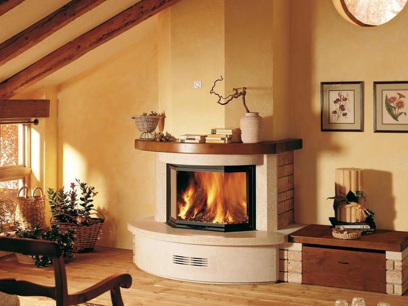 Stone Fireplace Mantel CAPUA - Piazzetta