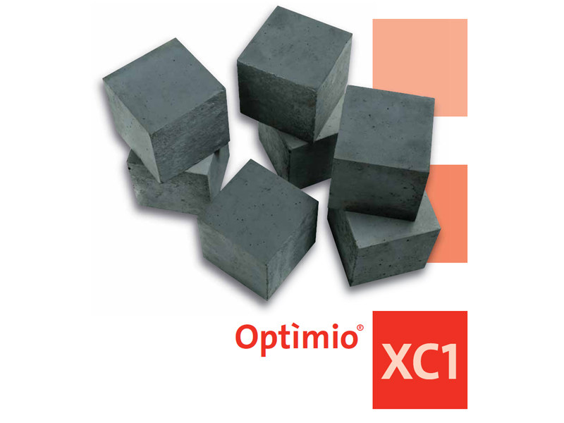 Pre-mixed structural concrete OPTIMIO XC1 by Holcim-italia