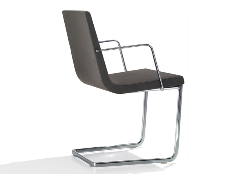 Cantilever upholstered chair LINEAL COMFORT | Upholstered chair - Andreu World