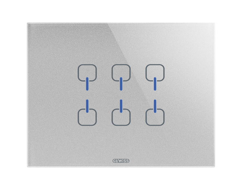 Glass wiring accessories ICE TOUCH KNX | Wiring accessories - GEWISS