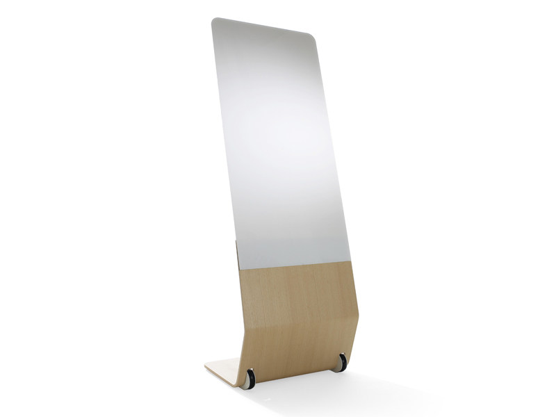 Office whiteboard with casters SENSE | Office whiteboard with casters - Abstracta