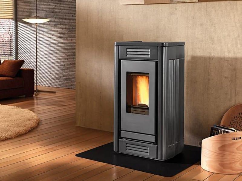 Pellet stove for air heating P957 | Pellet stove - Piazzetta