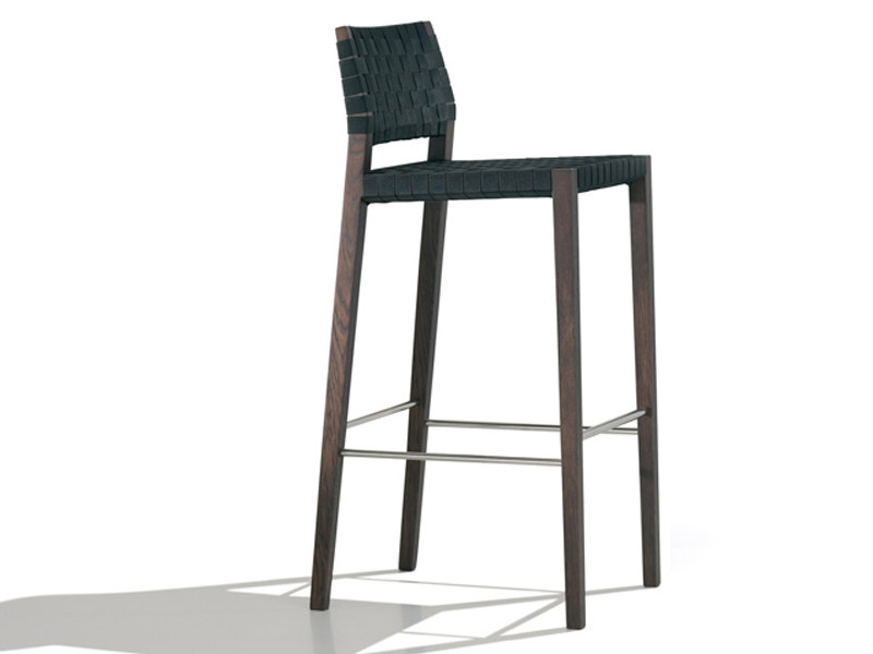 Wooden counter stool VALERIA | Restaurant chair - Andreu World