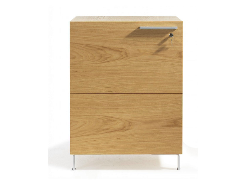 Wooden office drawer unit ENJOY | Office drawer unit - Abstracta