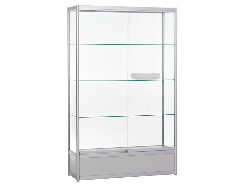 Aluminium display cabinet ALULINE PLUS - Abstracta