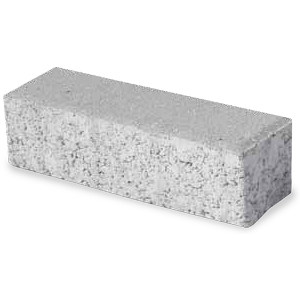 Photocatalytic lightweight concrete paving block LISTELLO GREEN ACTIVE by M.v.b.
