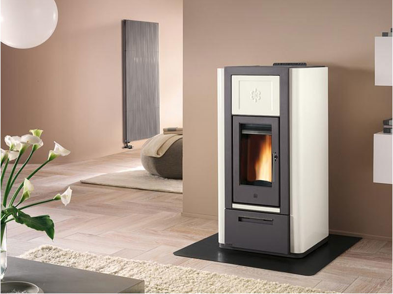 Pellet Heating stove P965 THERMO | Heating stove by Piazzetta