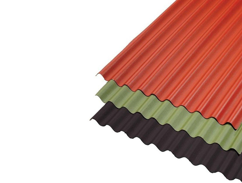 Prefabricated bituminous membrane CORRUGATED BITUMEN SHEETS - GUTTA ITALIA