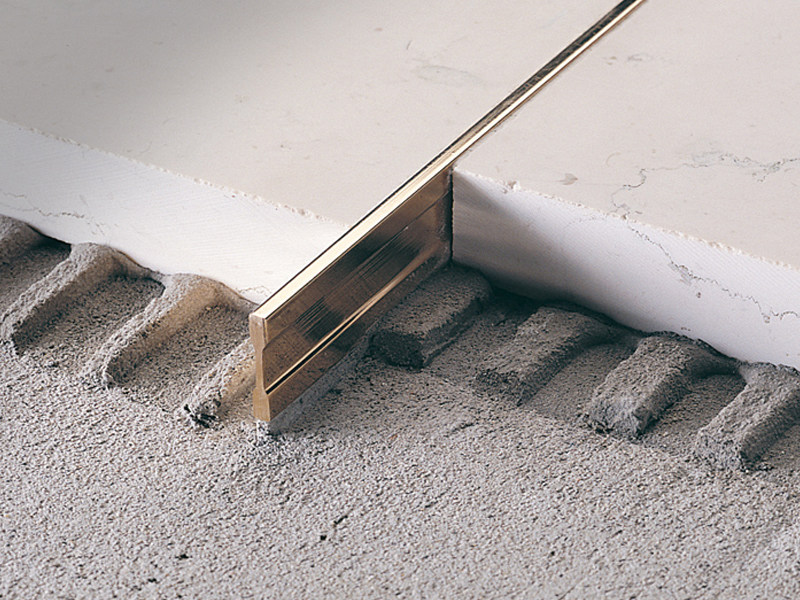 Separation joint profile for grinding/polishing LINETEC PT - PROFILITEC