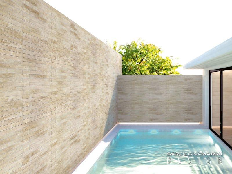 Revestimiento de pared suelo de m rmol para interiores y for Marmol para exteriores