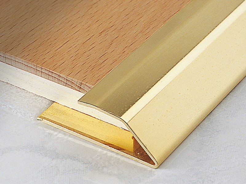 Terminal edge profile for wooden floors WOODTEC LP - PROFILITEC