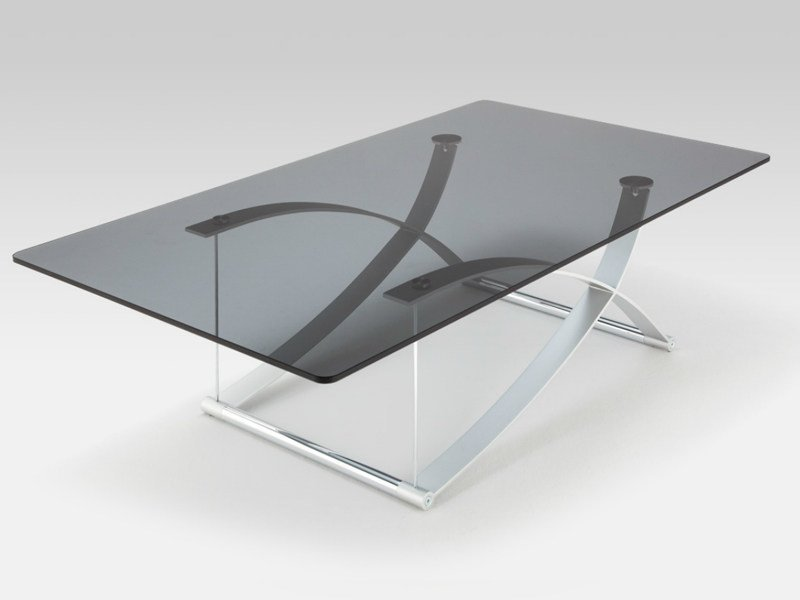 rectangular glass coffee table for living room rolf benz 1150 by rolf benz design wolfgang setz. Black Bedroom Furniture Sets. Home Design Ideas