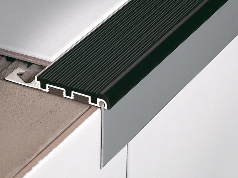 Stair edging profile for tiles STAIRTEC FSL by PROFILITEC