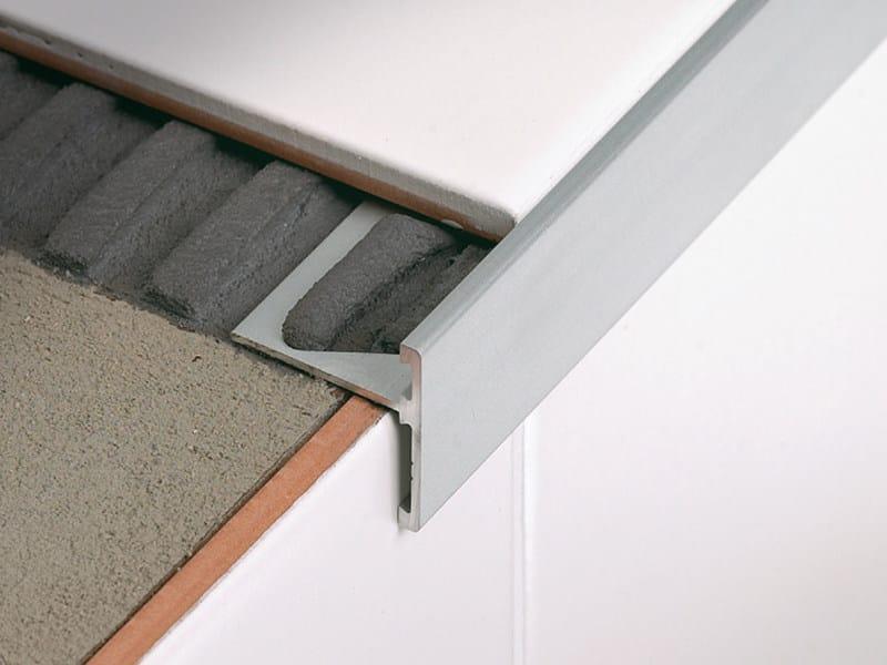 Linear metal stair nosing profile STAIRTEC SR - PROFILITEC