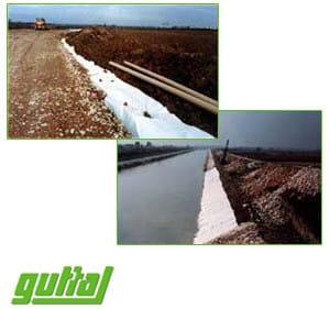 Geotextiles GUTTATEX® - GUTTA ITALIA