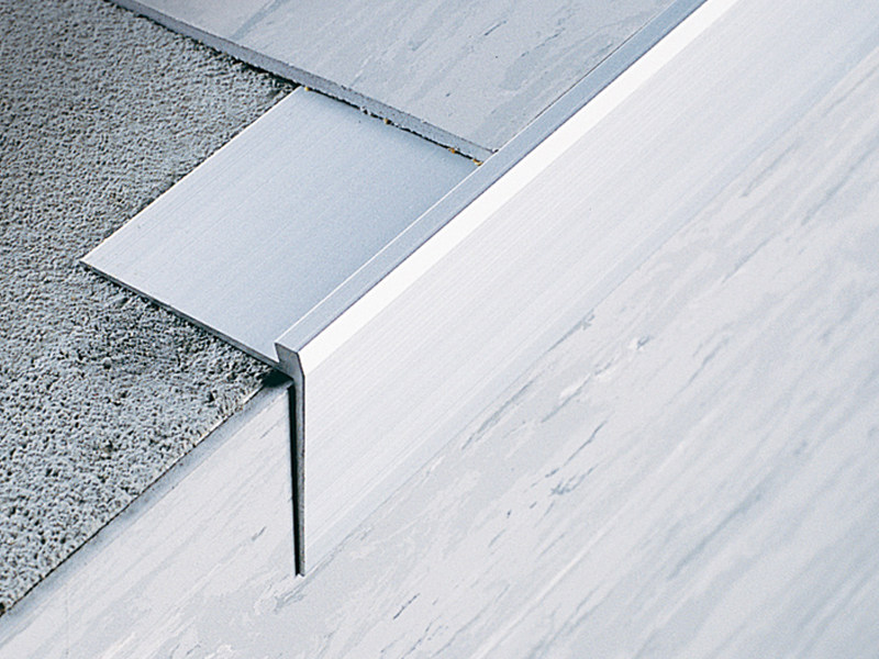 Stairnosing profiles for resilient flooring STAIRTEC SC by PROFILITEC